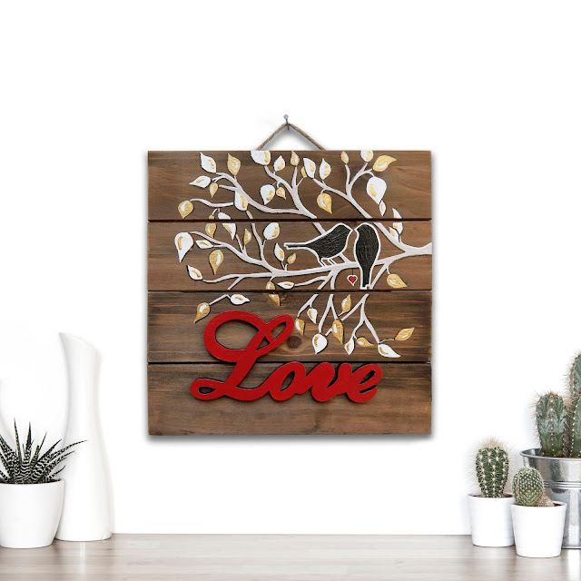 Love Wooden Sign
