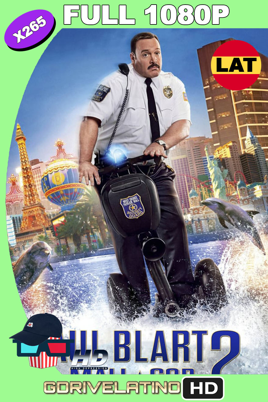 Paul Blart Mall Cop 2 (2015) BDRip 1080p H265 10bits Latino-Inglés MKV