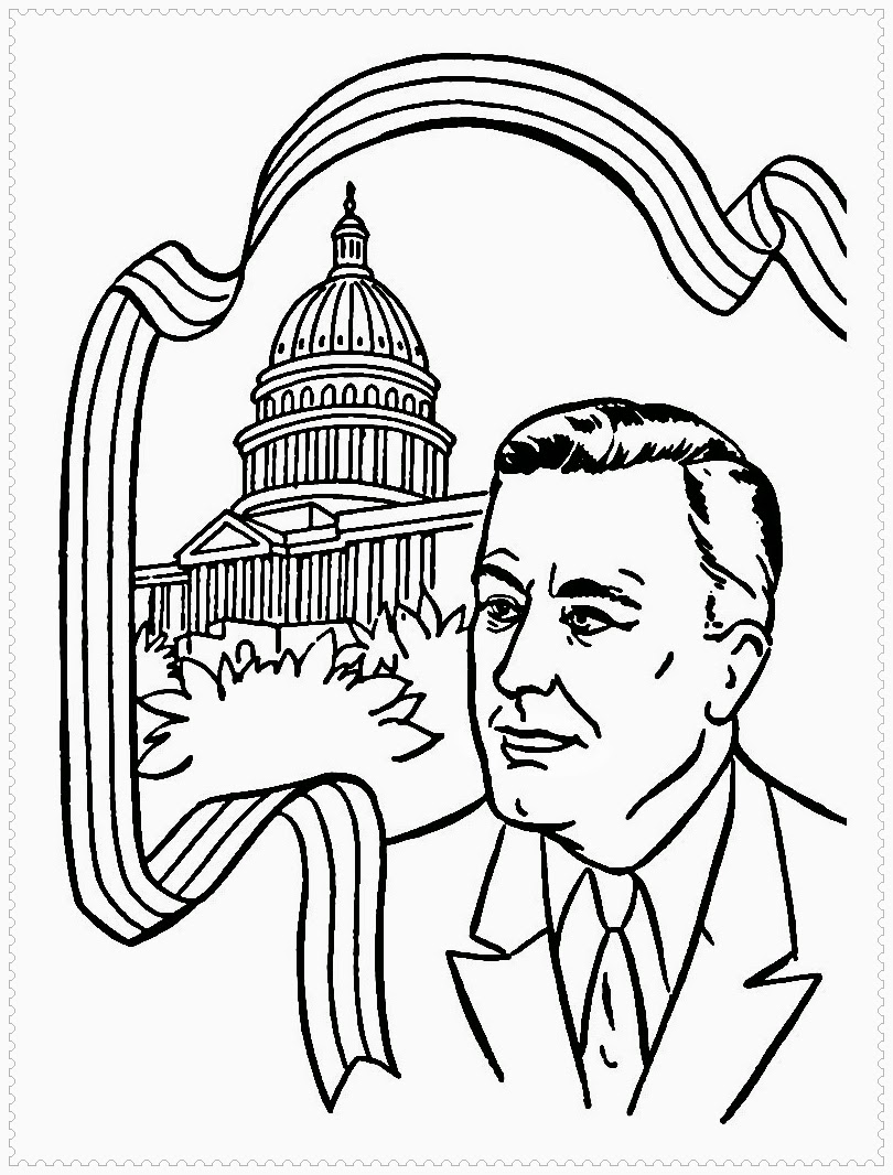 president day coloring pages