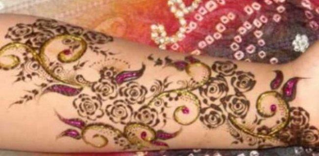 Fancy Mehndi Design