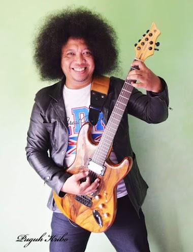 Puguh Kribo Guitar signature series KRB01 oleh Deozzaro Guitars made in Indonesia