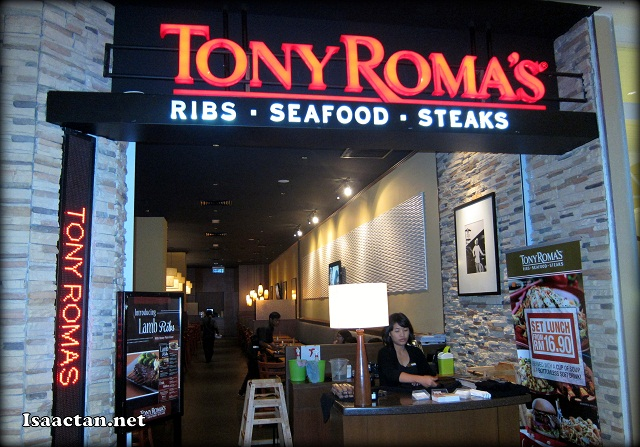 Tony Roma's Best Ribs Election Showdown @ Setia City Mall