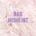 Summer Bag Wishlist + YouTube Goals?