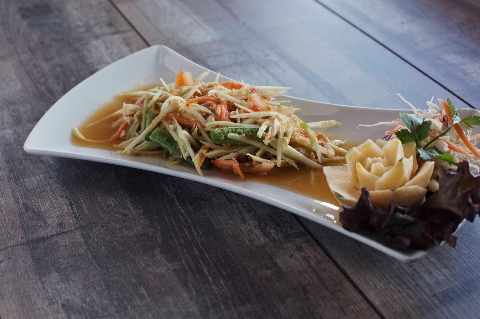 Orangegrass Thai Restaurant in South Shields Review