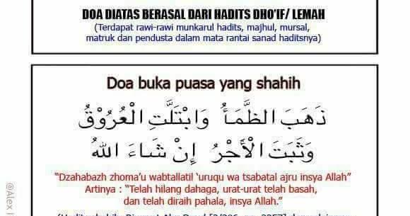 Alikhlasmusholaku Top Allahumma Lakasumtu Itu Doa Berbuka Yang Salah Bagaimana Doa Berbuka Puasa Yang Diajarkan Oleh Rasulullah