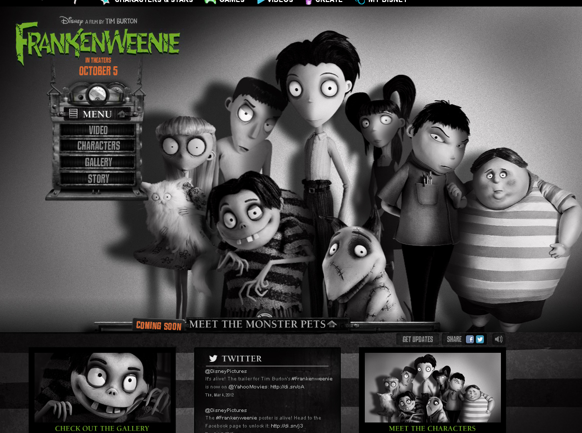 Real Fun Of Download Download Movies Songs Images And Many More Download Frankenweenie 2012