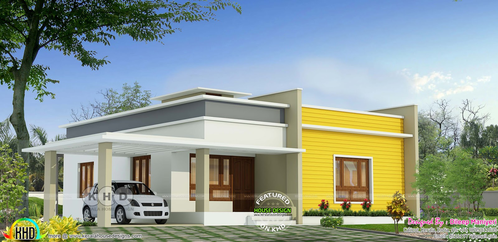 July 2019 Kerala Home Design And Floor Plans 8000 Houses