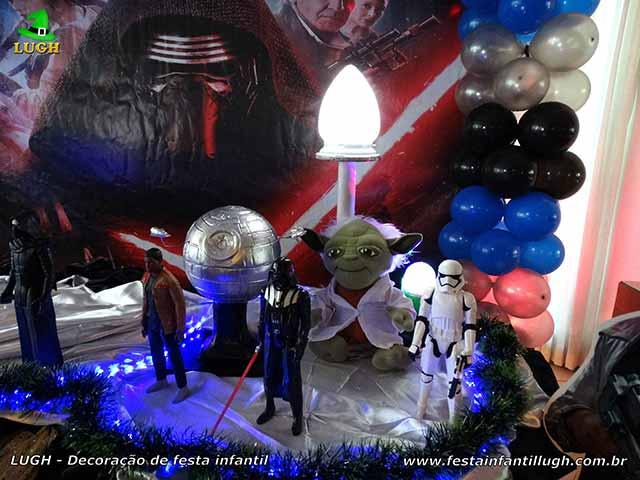 Decoração de festa tema Star Wars - Mesa de aniversário infantil luxo