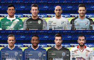 PES 6 Facepack Liga Argentina 2018/2019 by Cuervo96