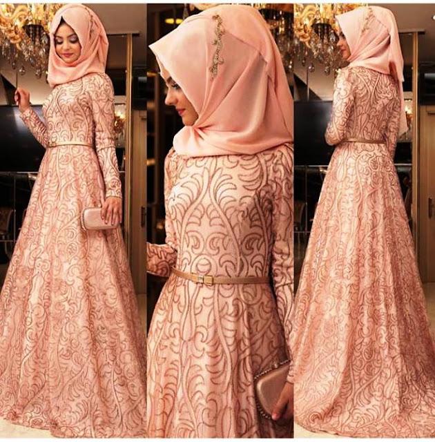 Inspirasi Gaun Muslimah Cantik dan Trendy 2001604