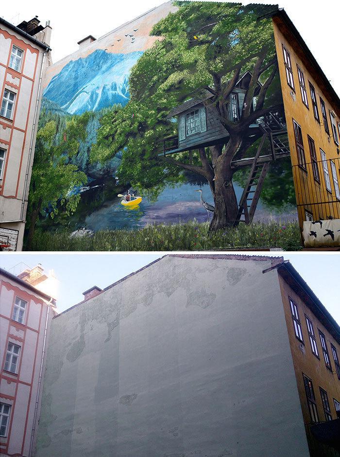 Plain Wall Transformation