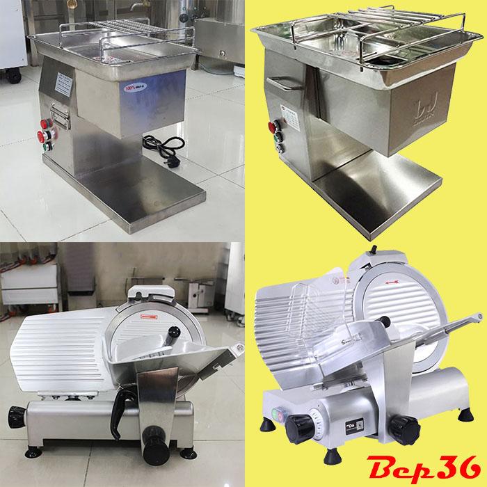máy cắt thịt chín