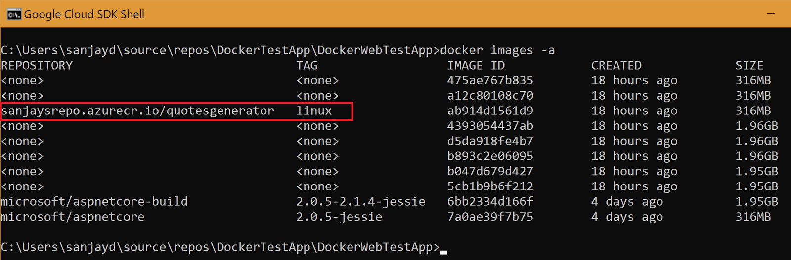 Getting Started with Azure Managed Kubernetes - Deploy your