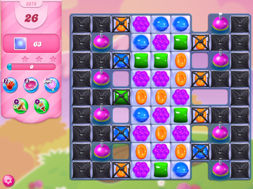 Candy Crush Saga level 3378