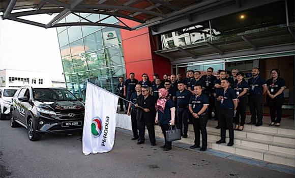 Perodua Aruz sasar jadi SUV pilihan di Sabah dan Sarawak