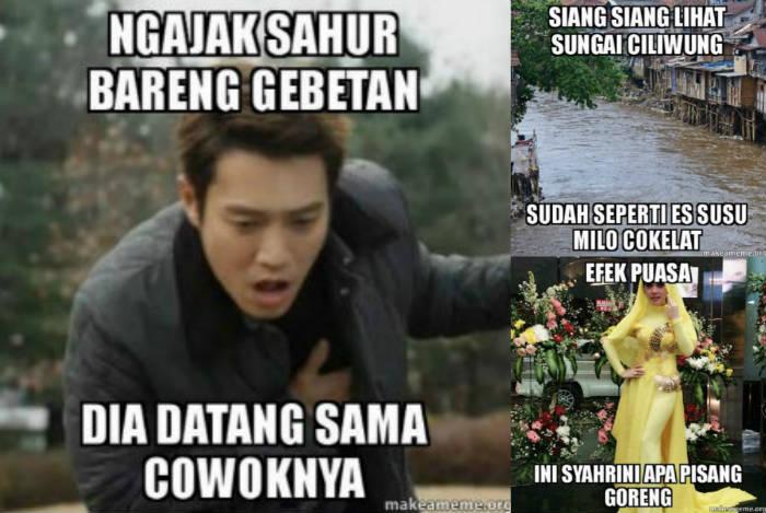 DP BBM Meme Lucu Sahur