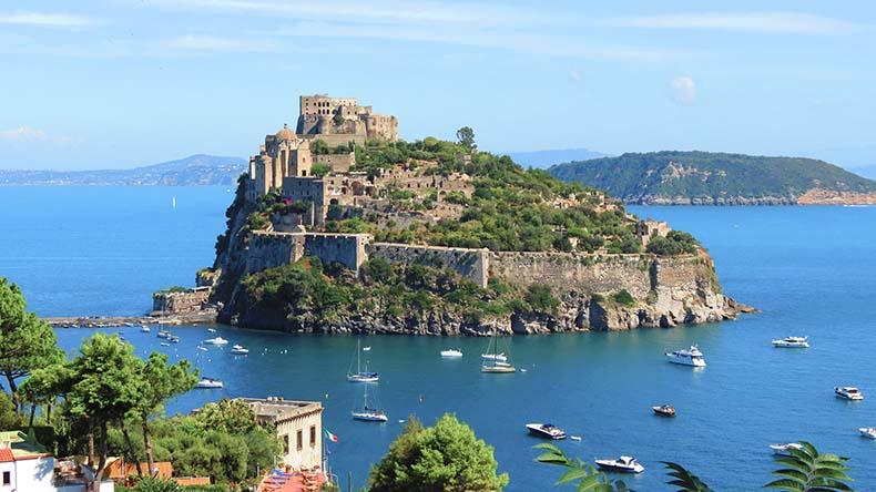 El Castillo Aragonés de Isquia | Italia