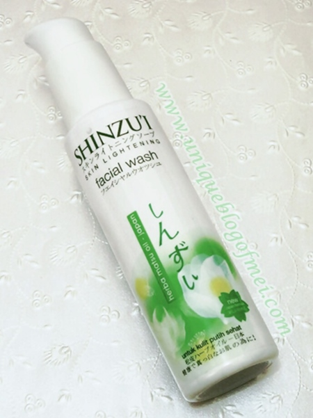 SHINZU'I Skin Lightening Facial Wash Review