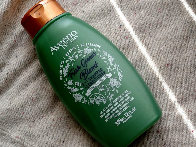 Aveeno Fresh Greens Blend Haircare Collection