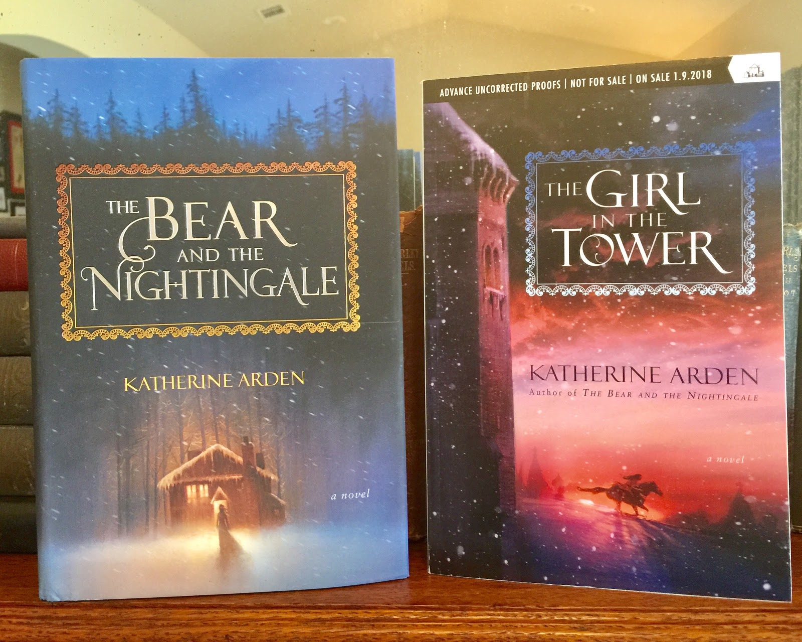 Monlatable Book Reviews: The Girl in the Tower (The Winternight ...