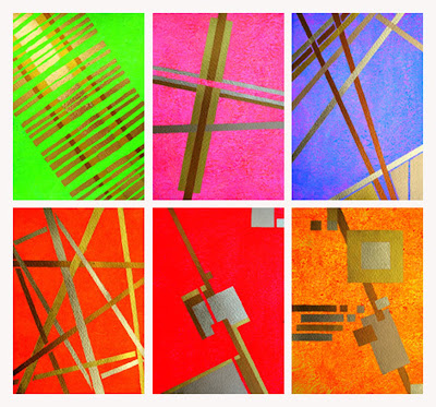 Acrylmalerei Das kleine Format, Kunstmalerei