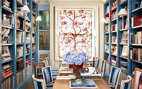 The Peak Of Tr 232 S Chic My 8 Favorite Home Libraries