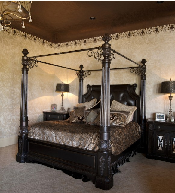 Old World Decorating: Key Interiors By Shinay: Old World Bedroom Design Ideas