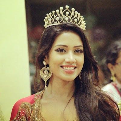 Nivetha woned UAE Beauty Pageant