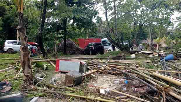 kerusakan akibat tsunami banten