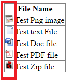 How to display image icons according to file extensions in asp.net