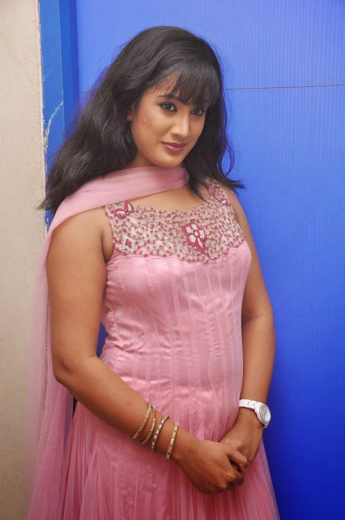 Cute Sravani photos in salwar kameez at jananam movie audio launch
