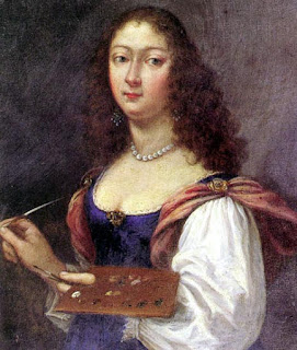 A self-portrait by Elisabetta Sirani