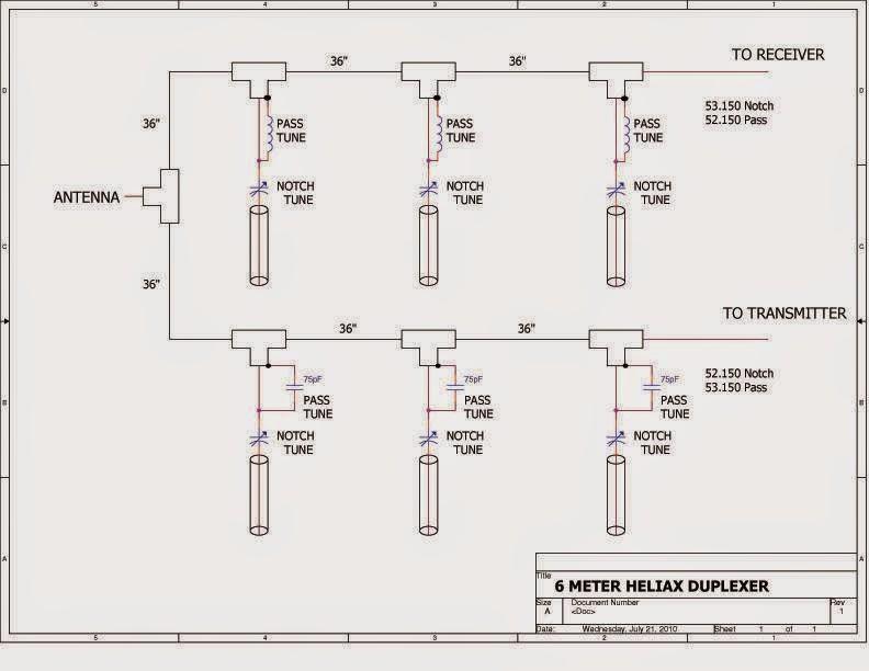 OH2BTG Radio Amateur Blog: 6M / 50MHz Duplexer for Repeater