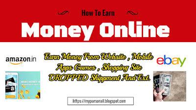 How Earn Money Online For Students  Earn Thousand Of Rupees At Home {Hindi+English}