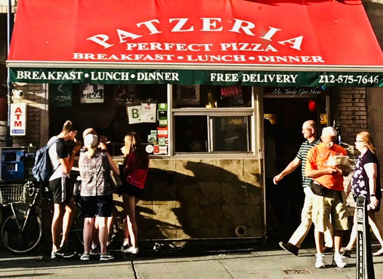 Patzeria Pizza- One of  50 Places To Eat Near Tiimes Square - From Cheap To Chic! | Ms. Toody Goo Shoes
