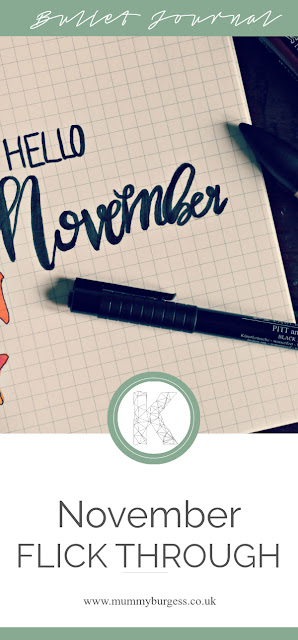 Bullet journal ideas for november