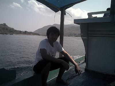 di kapal menuju pulau kepa alor NTT