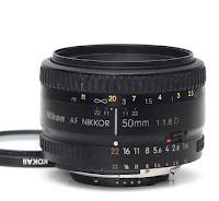 harga nikon 50mm 1.8d lensa fix