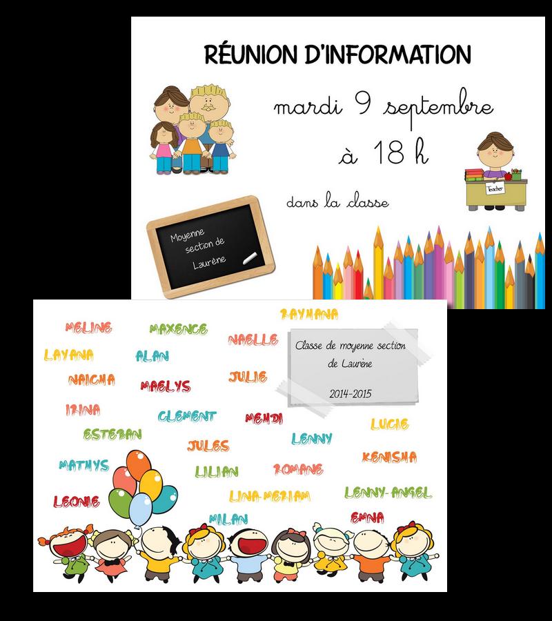 Audacieuse La maternelle de Laurène: Affiches pour porte OJ-73