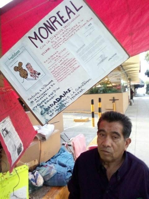 Funcionarios destruyen y roban herramienta de trabajo de Darío, boleador desde hace 44 años