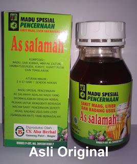 Jual madu SPESIAL maag, gangguan pencernaan & lambung As Salamah