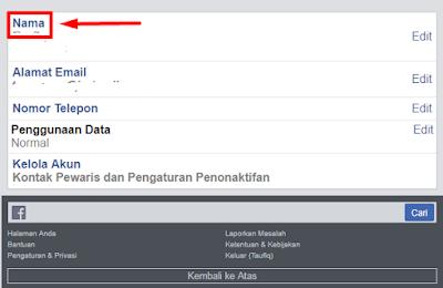 Tutorial Agar Profile Facebook Tidak Bisa Dilihat Oleh Orang Lain 3