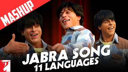 Mashup Jabra 11 Languages New Songs 2016 Shah Rukh Khan FAN Anthem Music Video