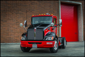 Southeastern Freight Lines Kenworth T370