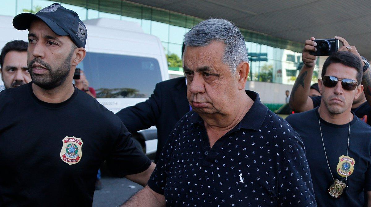 Picciani e Paulo Melo se entregam à PF, após Justiça mandar prendê-los