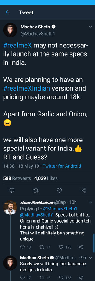 Realme X Mobile Price and Launching Date in India with specification
