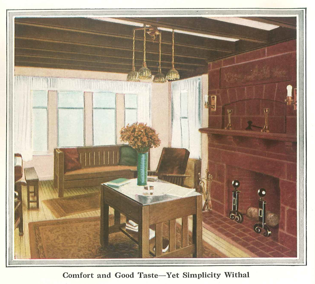 Bungalow Living Room: Laurelhurst Craftsman Bungalow: Misc. Period Pictures