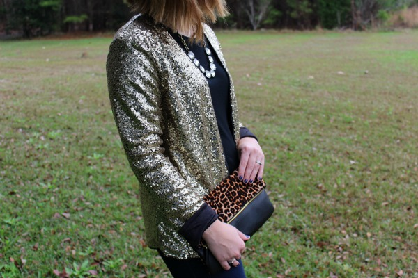 happy new year, sequin jacket, mom style