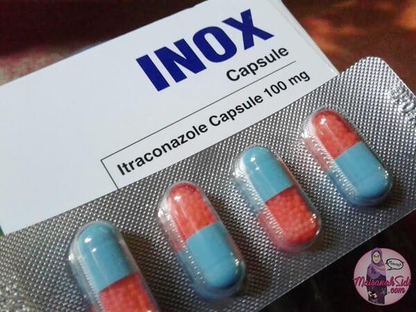 ubat anti fungs, itraconazole