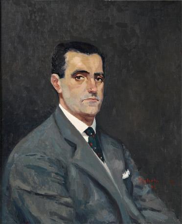 Julio Galarta, Retrato de José Luis Álvarez Arruabarrena, Maestros españoles del retrato, Pintor español, Retratos de Julio Galarta, Pintores de Gipuzkoa, Pintores españoles